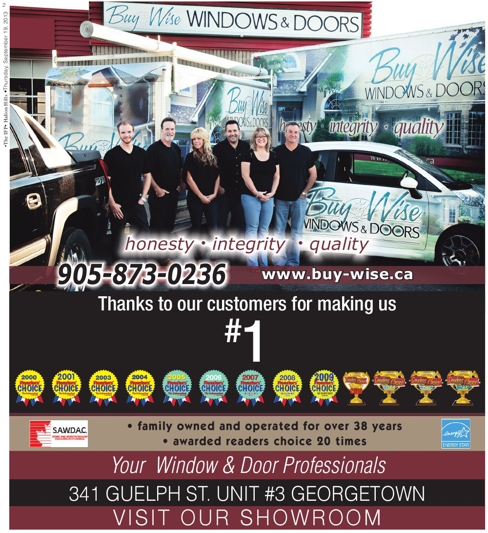 Independent & Free Press (Georgetown, ON), 19 Sep 2013