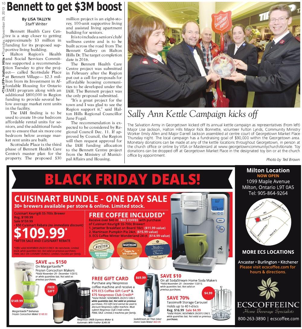 Independent & Free Press (Georgetown, ON), 28 Nov 2013