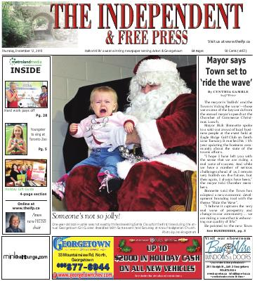 Independent & Free Press (Georgetown, ON), 12 Dec 2013