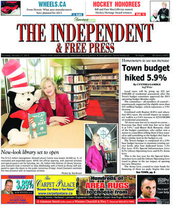 Independent & Free Press (Georgetown, ON), 17 Jan 2013