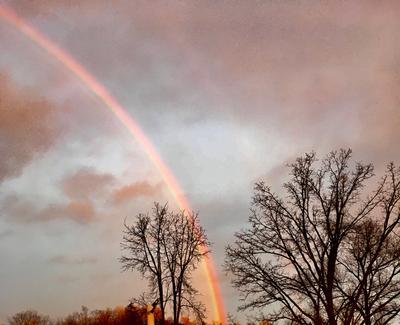 Rainbow over Stewarttown