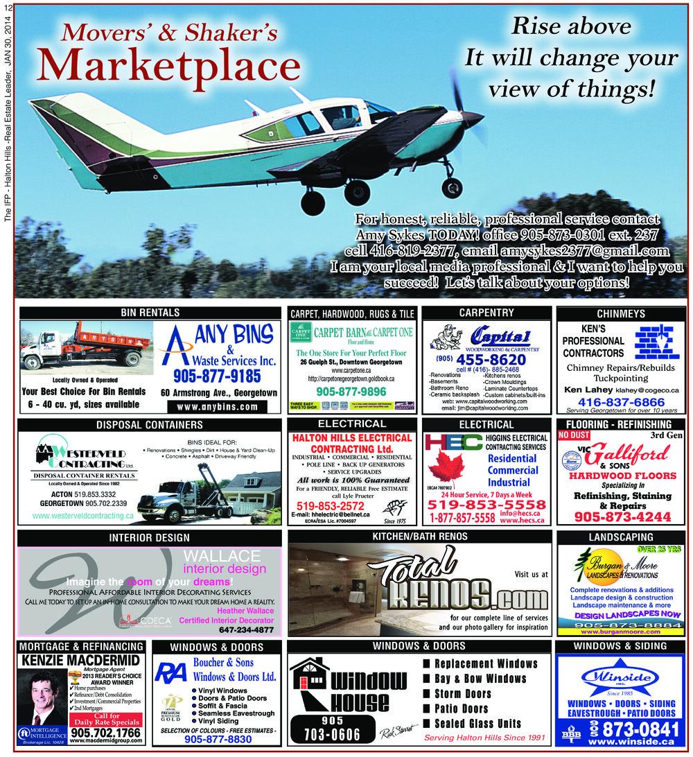Independent & Free Press (Georgetown, ON), 30 Jan 2014