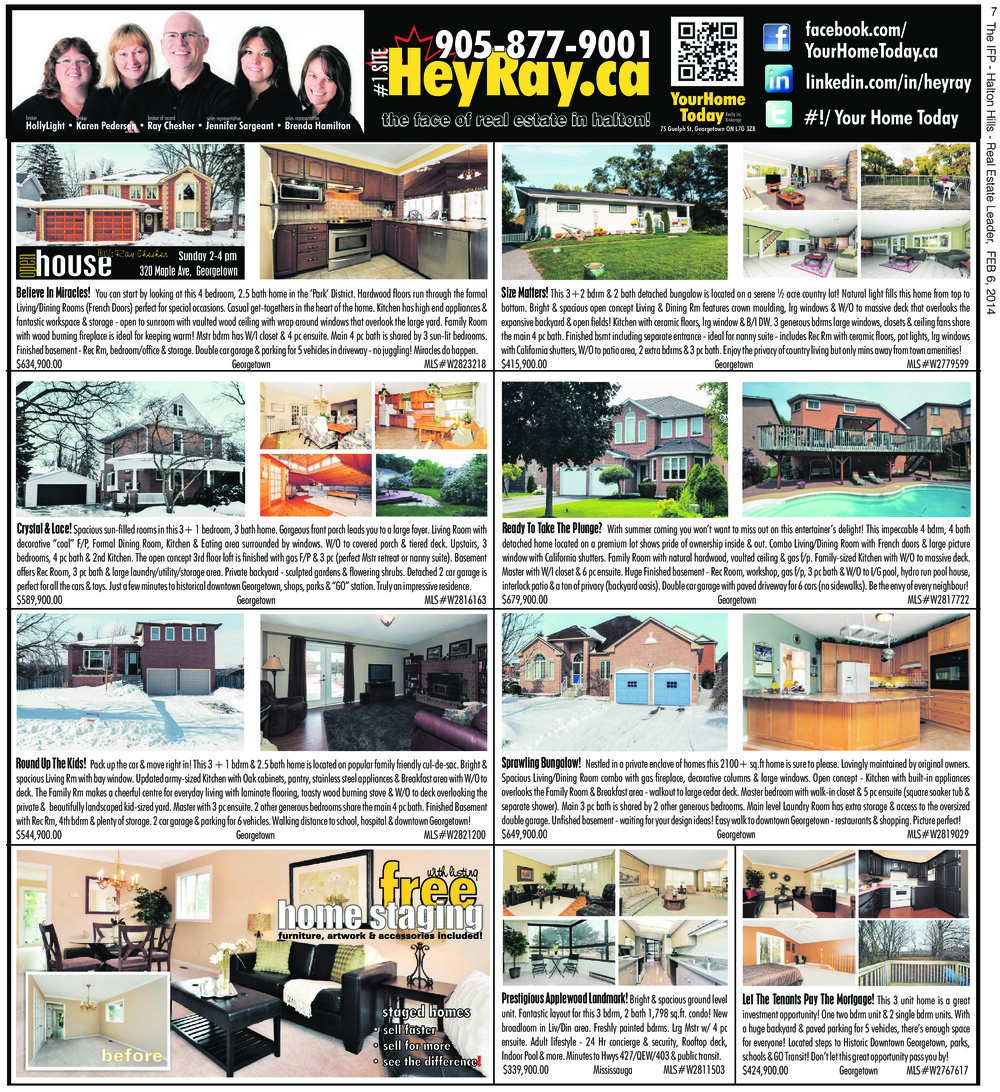 Independent & Free Press (Georgetown, ON), 6 Feb 2014