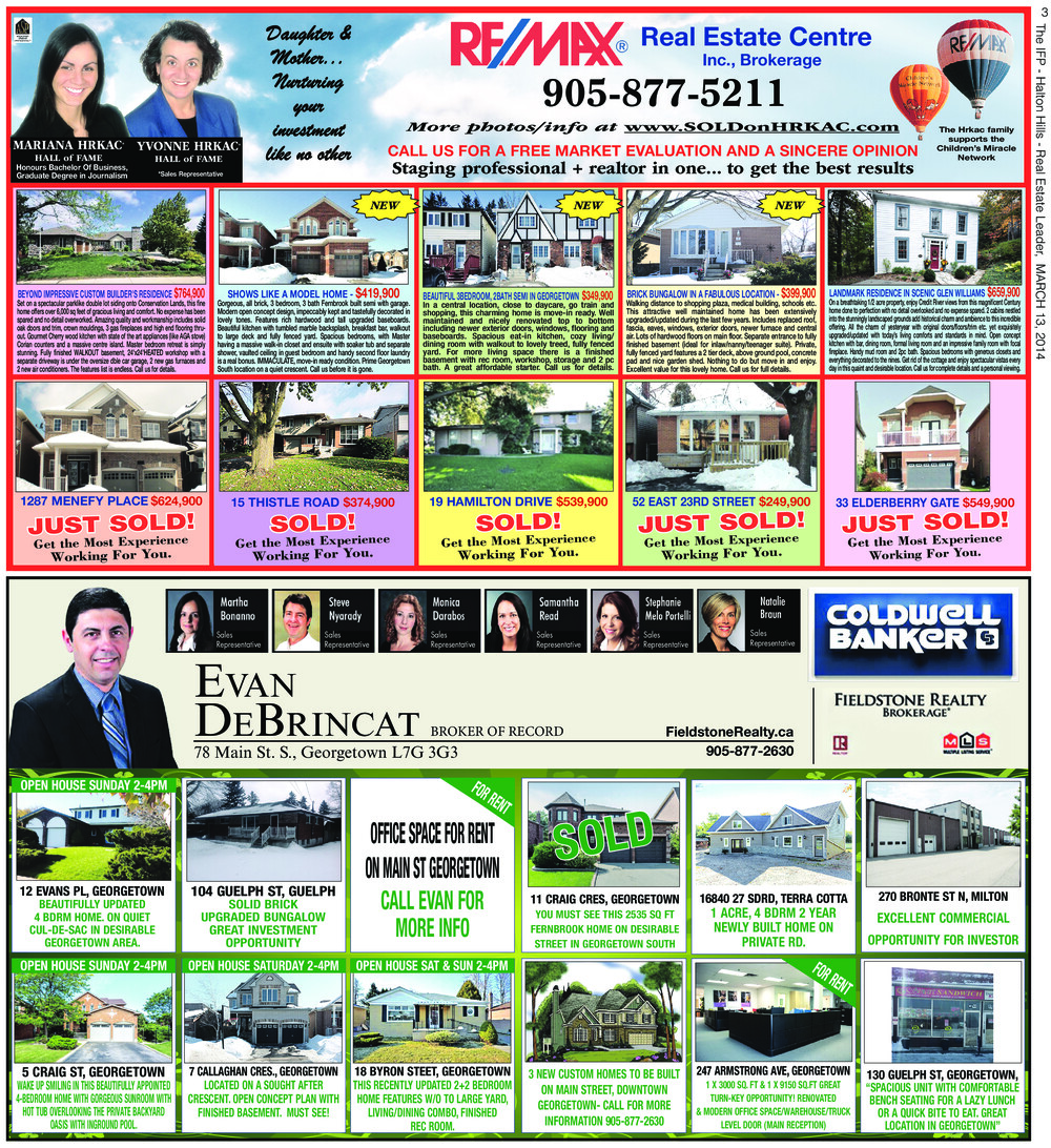 Independent & Free Press (Georgetown, ON), 13 Mar 2014