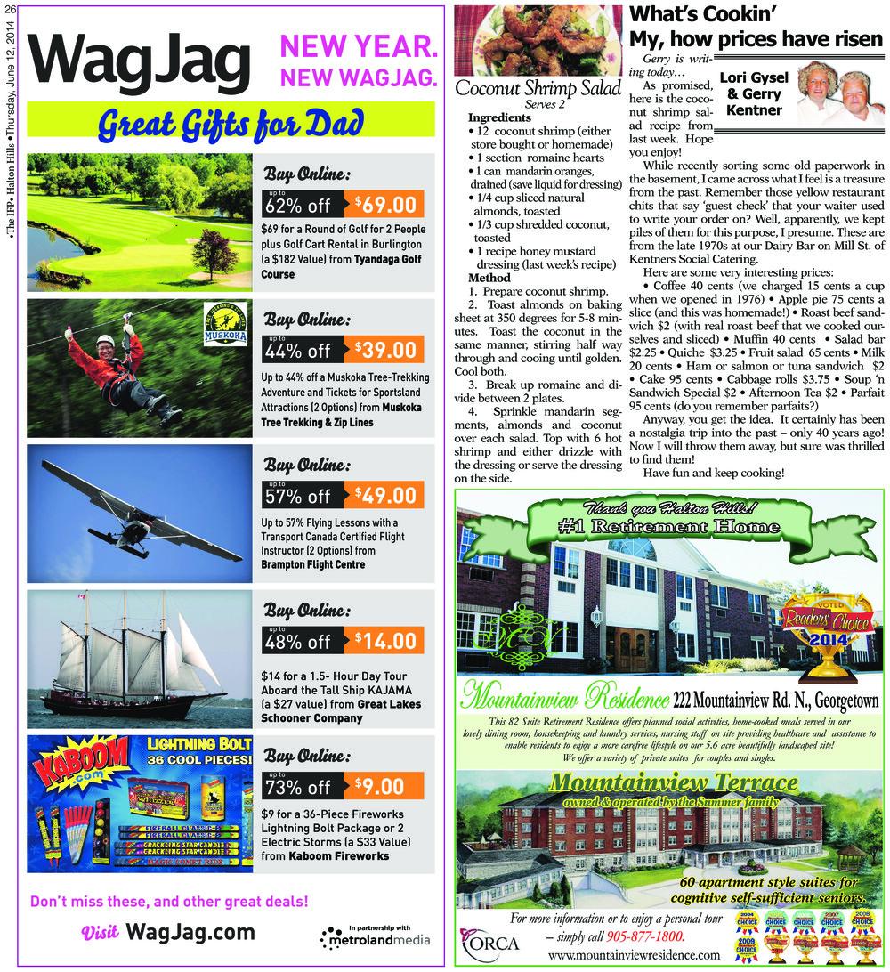 Independent & Free Press (Georgetown, ON), 12 Jun 2014