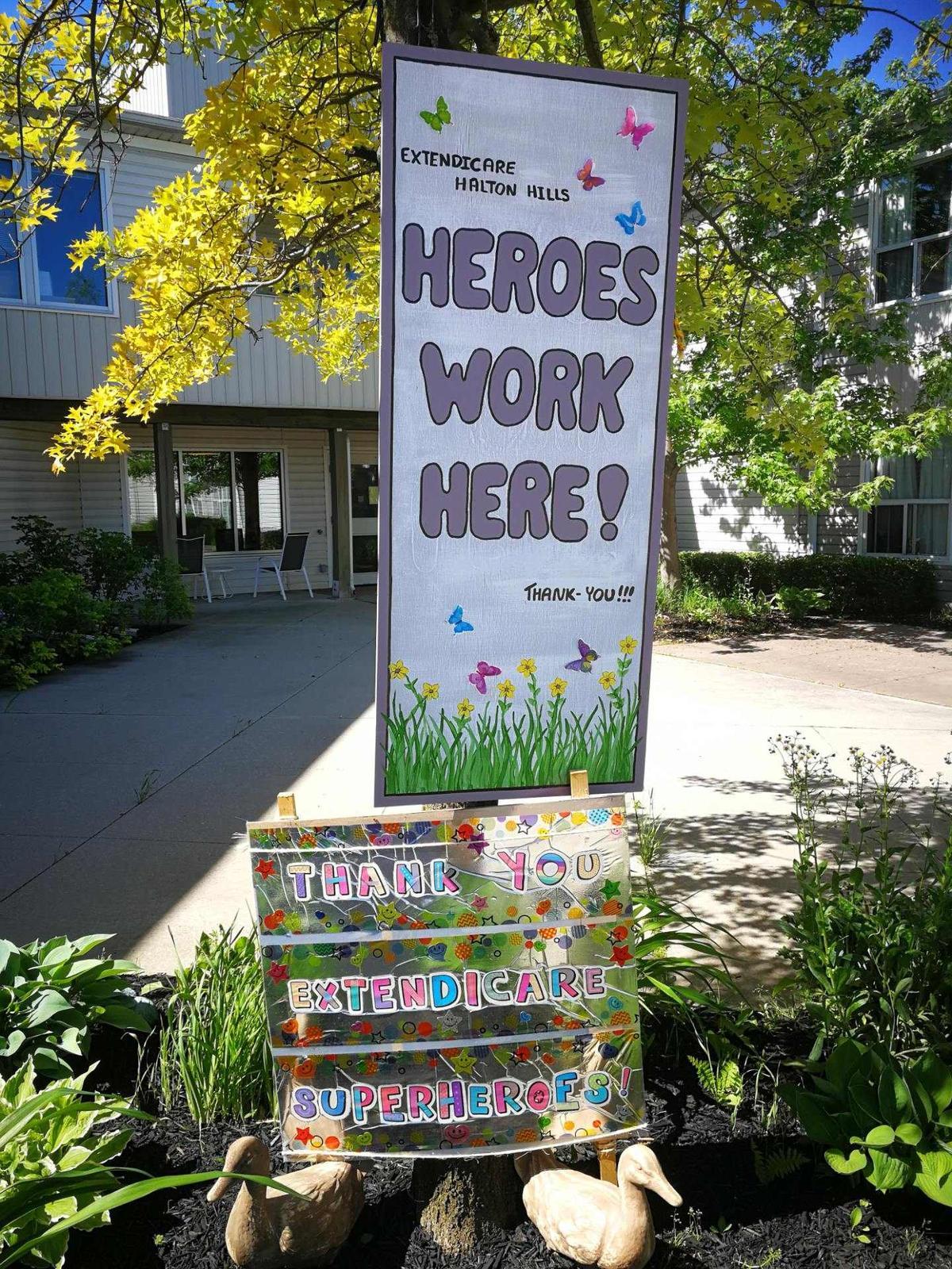 Extendicare Halton Hills COVID Heroes