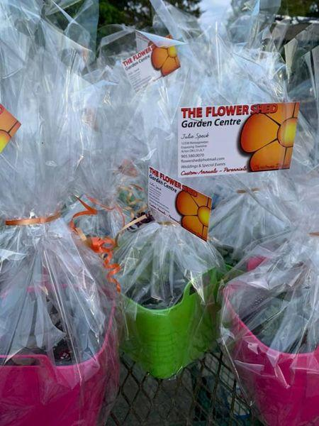 The Flowershed deliveries ready for Hillsview Active Living Centre members