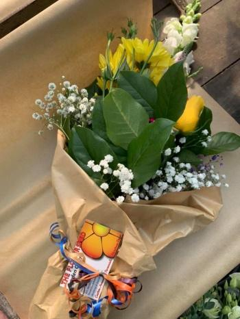 Hillsview Active Living Centre and The Flowershed curbside flower partnership