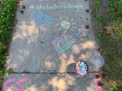 #HHChalkChallenge