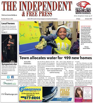 Independent & Free Press (Georgetown, ON), 5 Feb 2015