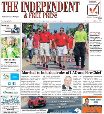 Independent & Free Press (Georgetown, ON), 16 Jul 2015