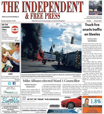 Independent & Free Press (Georgetown, ON), 24 Sep 2015