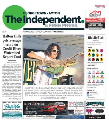 Independent & Free Press (Georgetown, ON), 5 Apr 2018