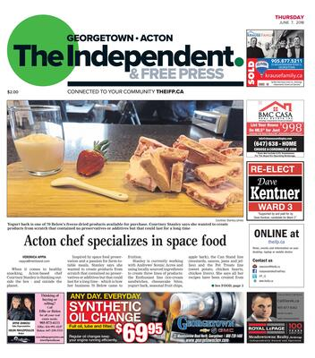 Independent & Free Press (Georgetown, ON), 7 Jun 2018