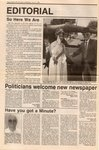 Politicians welcome new newspaper