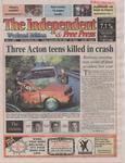 Three Acton teens killed in crash