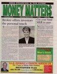 Money Matters, page 1