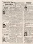 Decision 2004 : Your federal election candidates