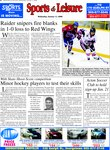 Raider snipers fire blanks in 1-0 loss to Red Wings