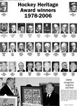 Hockey Heritage Award winners 1978-2006