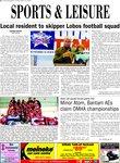 Local resident to skipper Lobos football squad