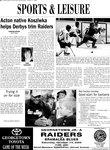 Acton native Kosziwka helps Derbys trim Raiders