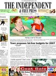 Town proposes fat-free budgets for 2007