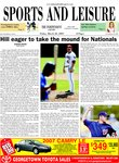 Hill eager to take the mound for Nationals