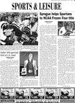 Sprague helps Spartans to NCAA Frozen Four title