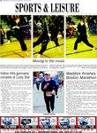 Waddick finishes Boston Marathon