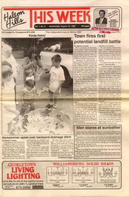 Halton Hills This Week (Georgetown, ON), 12 Aug 1992