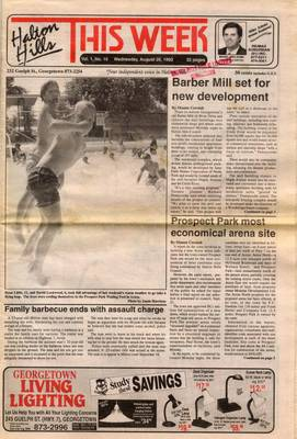 Halton Hills This Week (Georgetown, ON), 26 Aug 1992