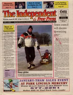 Independent & Free Press (Georgetown, ON), 22 Jan 1997