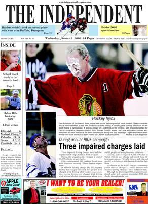 Independent & Free Press (Georgetown, ON), 9 Jan 2008