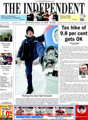 Independent & Free Press (Georgetown, ON), 16 Jan 2008