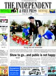 Independent & Free Press (Georgetown, ON), 9 May 2008