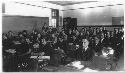 Forms Three and Four, Thessalon, Class of 1924