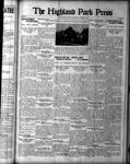 Highland Park Press (1912), 2 Nov 1922