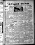 Highland Park Press (1912), 9 Nov 1922