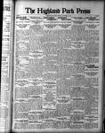Highland Park Press (1912), 23 Nov 1922
