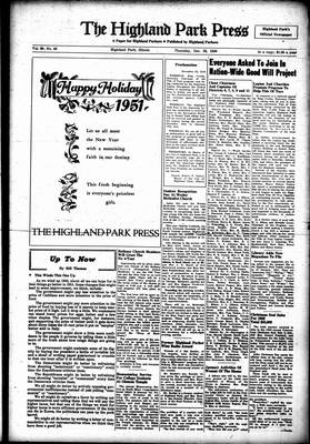 Highland Park Press, 28 Dec 1950