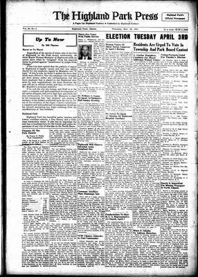 Highland Park Press, 29 Mar 1951