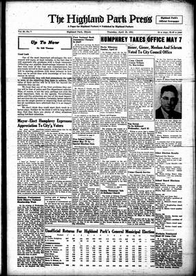 Highland Park Press, 19 Apr 1951