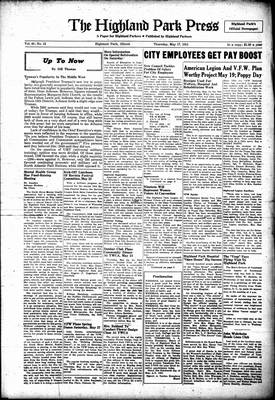Highland Park Press, 17 May 1951