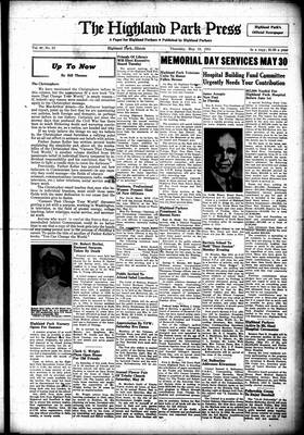 Highland Park Press, 24 May 1951