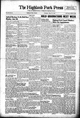 Highland Park Press, 31 May 1951