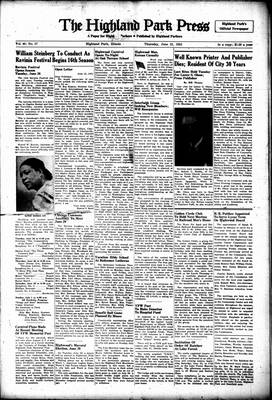 Highland Park Press, 21 Jun 1951