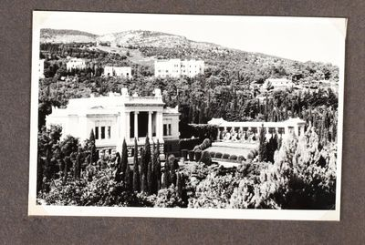 Soviet Health Commissar's summer residence in Crimea