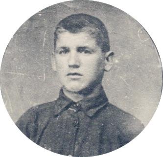 Portrait of Aleksandr Bokan
