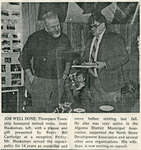Retiring Reeve Jerry Haaksman Honored, Iron Bridge, circa 1980